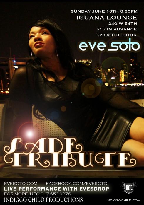 EVE SOTO Doing A SADE Tribute