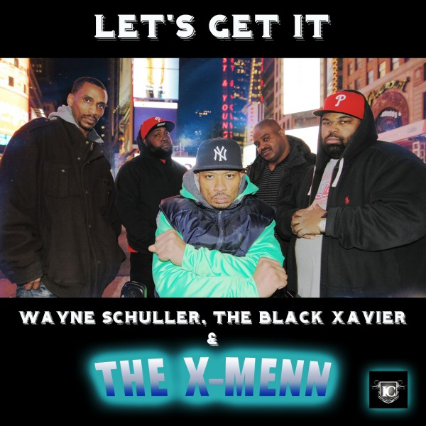 XMENN - Let's Get It - CD MAIN Cover