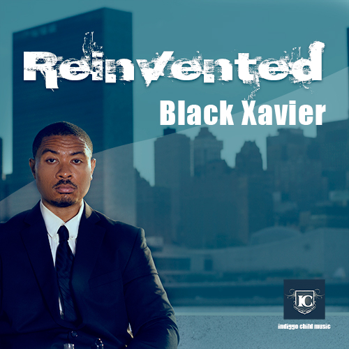 reinvented black xavier cd cover